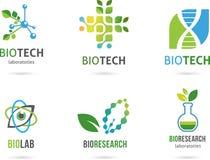 Icônes alternatives naturelles de phytothérapie Photos stock