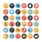 Icônes d'affaires Image stock