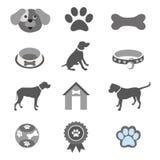 Icônes d'animal familier réglées Photographie stock libre de droits