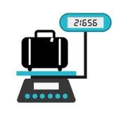 Icônes d'aéroport Photos libres de droits