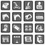 Icônes 4 d'ordinateur Image stock