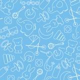 Icônes de bébé Images libres de droits