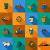 Icônes de déchets réglées
