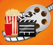 Icônes de film et de cinéma Photos libres de droits