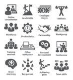 Icônes de gestion d'entreprise Paquet 11 Image libre de droits