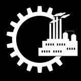 Icônes de gestion d'ingénierie réglées Photographie stock libre de droits