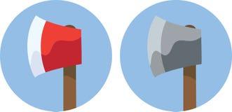 Icônes de hache illustration de vecteur