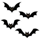 Icônes de Halloween/batte Photographie stock