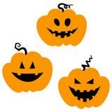 Icônes de Halloween/cric-o-lanterne Photo libre de droits