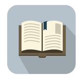 Icônes de livre Photos stock