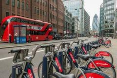 Icônes de Londres Photo stock