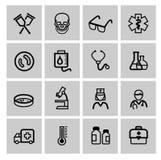 Icônes de médecine et de Heath Care Images libres de droits
