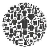 Icônes de mode Photographie stock libre de droits