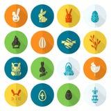 Icônes de Pâques de célébration Photo libre de droits