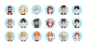 Icônes de professions Photos libres de droits