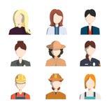 Icônes de professions Images libres de droits