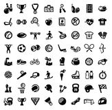 Icônes de sport Photo stock