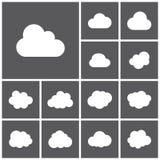 Icônes de stockage Photos libres de droits