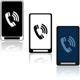 Icônes de téléphone Image stock