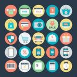 Icônes 2 de vecteur d'achats et de commerce illustration libre de droits