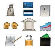 Icônes de vecteur de banque Photographie stock libre de droits
