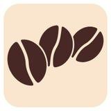 Icônes de vecteur de café Photographie stock
