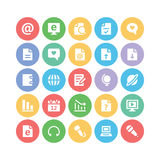 Icônes 3 de vecteur de communication Photographie stock libre de droits