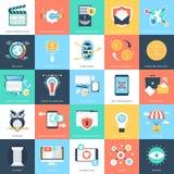 Icônes 6 de vecteur de concepts d'affaires Image libre de droits