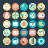 Icônes 3 de vecteur de finances illustration de vecteur