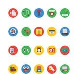 Icônes 8 de vecteur de l'électronique Images libres de droits