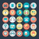 Icônes 2 de vecteur de l'électronique Photographie stock libre de droits
