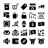 Icônes 11 de vecteur de mode Photos libres de droits