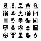 Icônes 1 de vecteur de Polit Photographie stock libre de droits