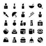 Icônes 4 de vecteur de vêtements Photographie stock libre de droits