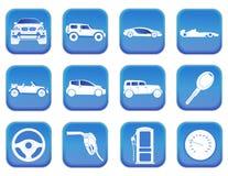 Icônes 2 de voiture Images stock