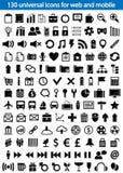 Icônes de Web Photographie stock libre de droits