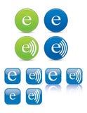 Icônes de Web Photo libre de droits