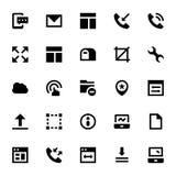 Icônes 2 de web design et de vecteur de développement Photos libres de droits