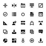 Icônes 7 de web design et de vecteur de développement Image libre de droits