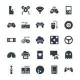 Icônes fraîches 2 de vecteur de jeu Images stock