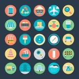 Icônes industrielles 2 de vecteur illustration libre de droits