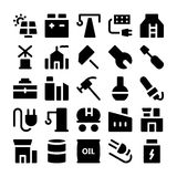 Icônes industrielles 2 de vecteur Images stock