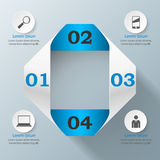 icônes infographic de calibre et de vente de la conception 3D Images stock