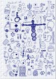 Icônes médicales Photos libres de droits