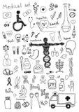 Icônes médicales Photo stock