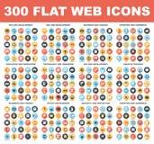 Icônes plates de Web illustration de vecteur