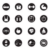 Icônes set03 de sport Images libres de droits