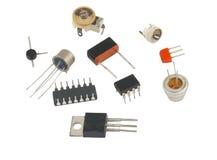 IC-radio-elementen stock foto's