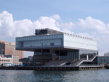 ICA Boston Art Musuem Royalty Free Stock Image