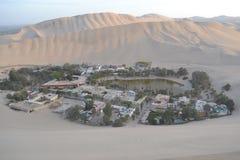 ICA Oasis, Perú Fotos de archivo libres de regalías